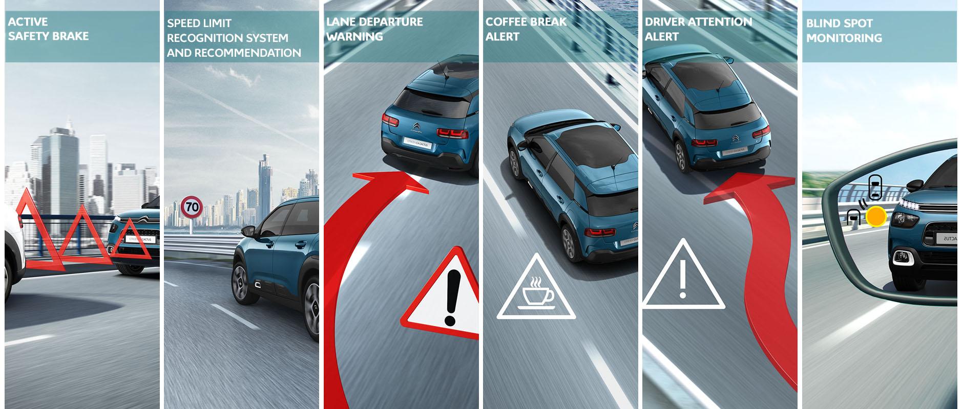 La Sécurité et les 12 aides à la conduite