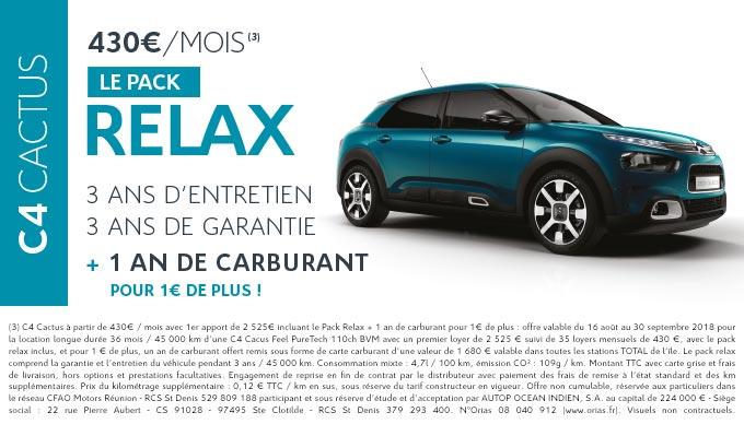 Nouvelle C4 Cactus voiture Réunion