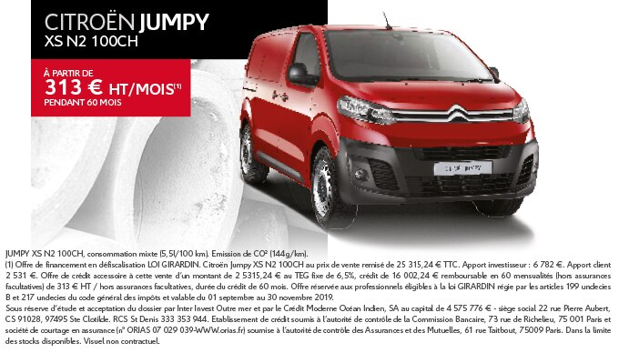 CAMPAGNE BUSINESS SEPT 2019 - CITROEN JUMPY