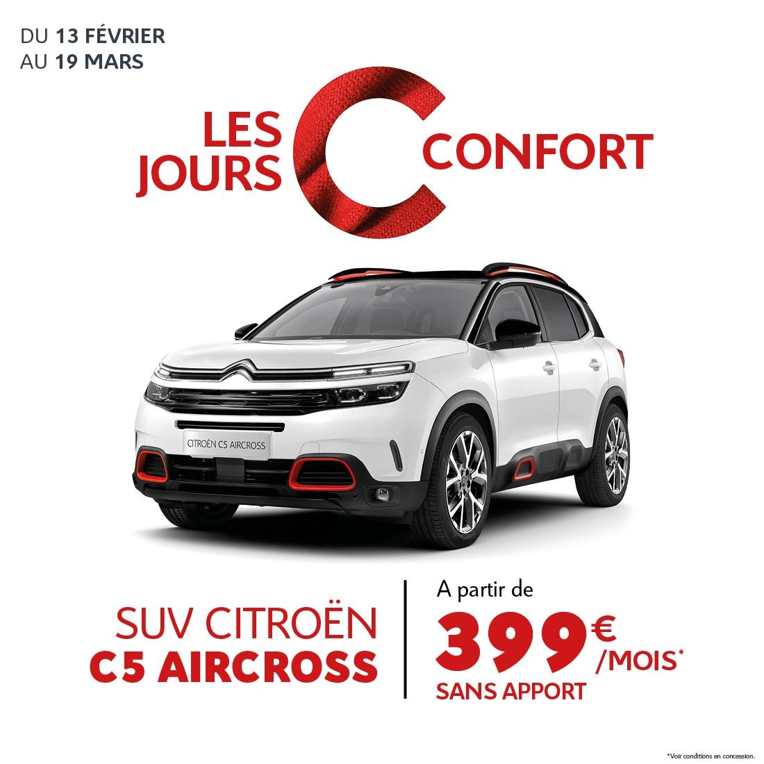 Landind Page - Citroën C5 Aircross- C Confort Réunion - Février 2020