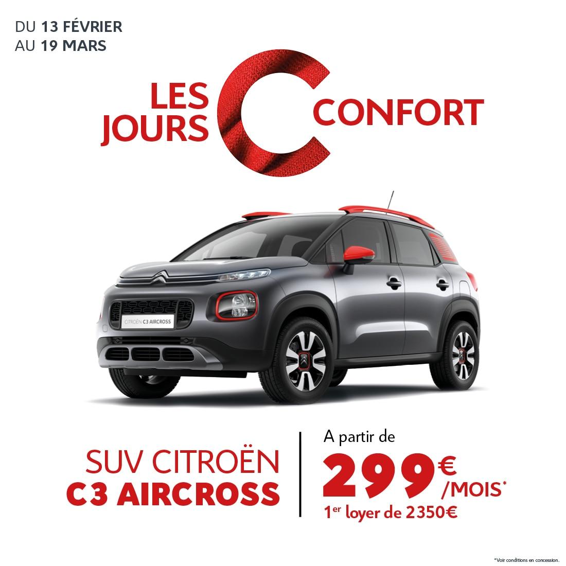 Landind Page - Citroën C3 Aircross- C Confort Réunion - Février 2020