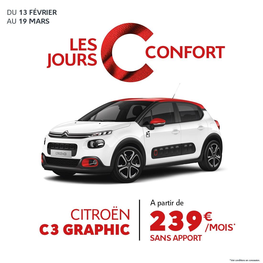 Landind Page - Citroën C3 - C Confort Réunion - Février 2020